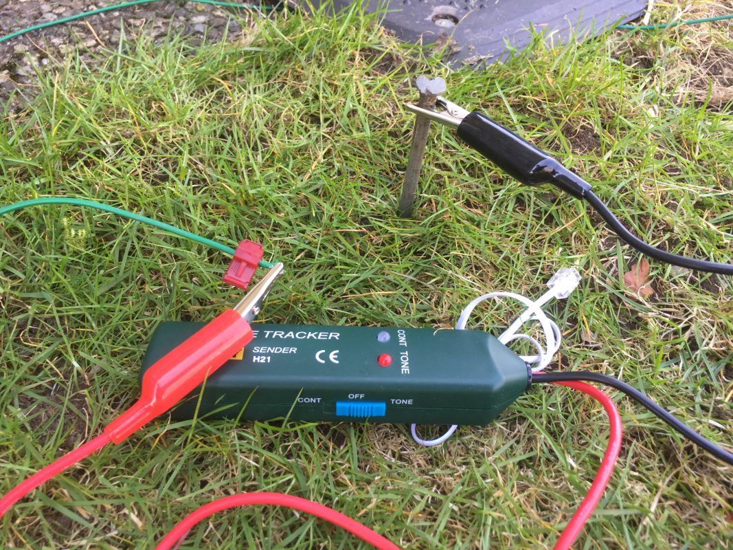 Hur man använder en kabelbrottssökare